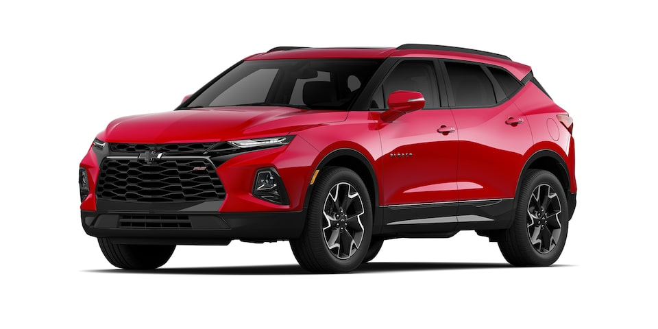 Chevrolet Blazer 2021 color rojo rubí